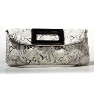 Chicastic White Casual Clutch Bag