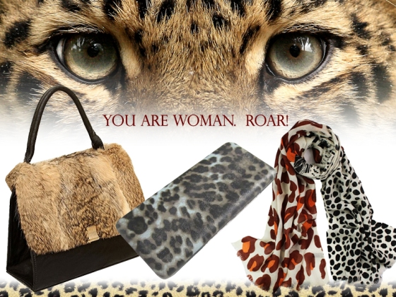 Animal Print purses, wallets, scarves and accessories at Chicastic