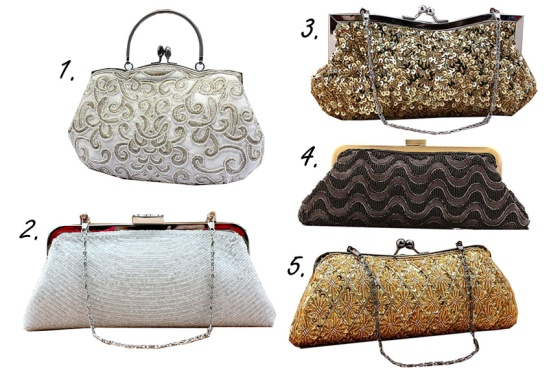 Beautifully Beaded Bridal Bags
