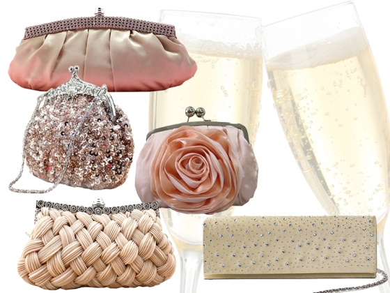 Champagne Inspired Purses for Valentine's Day
