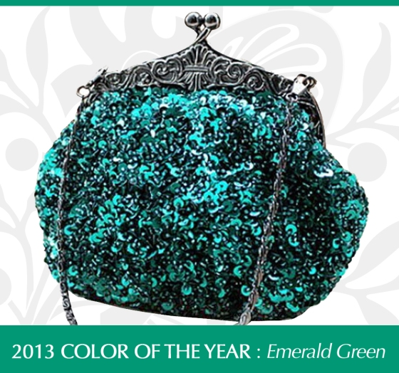 Fully Sequined Mesh Antique Style Wedding Evening Formal Cocktail Clutch Purse Bag