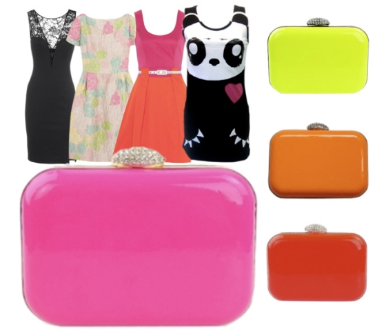How to dress the Neon Minaudiere!