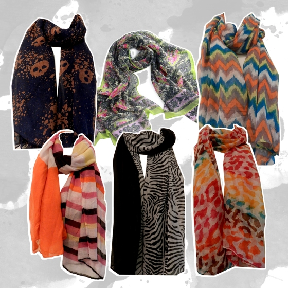 Polyester Wrap Scarves ON SALE!!
