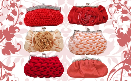 Valentine's Day Romantic Clutch Purses