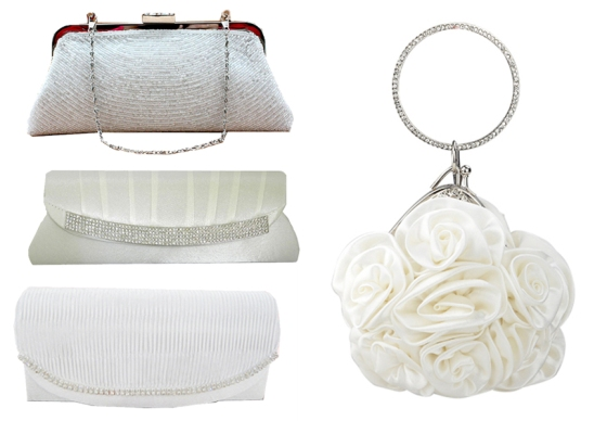 White Hot Bridal Purses at Chicastic
