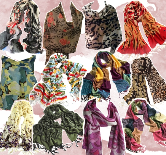 Wool and Wool Blend Pashima Scarf Wraps ON SALE $14.99-$19.99