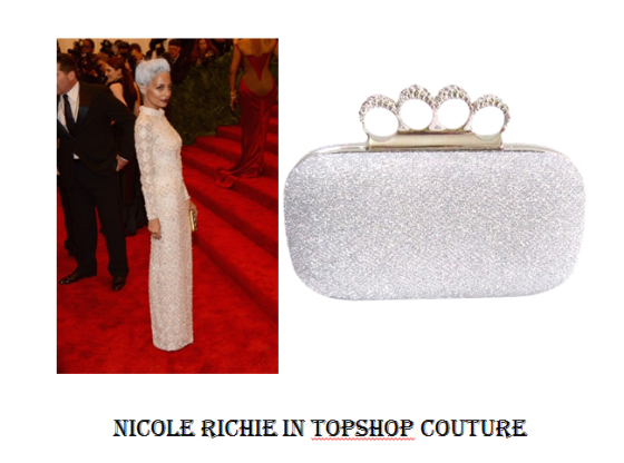 Nicole Richie in Topshop Couture