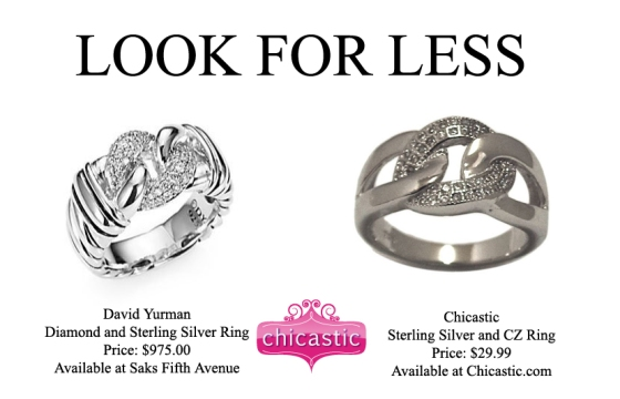 Look For Less- Silver Rings