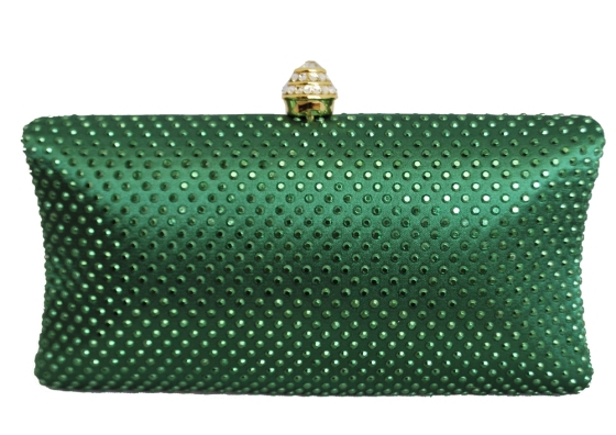 Glamorous Emerald Green Clutch Bags