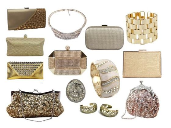 Gold Accessories at Chicastic