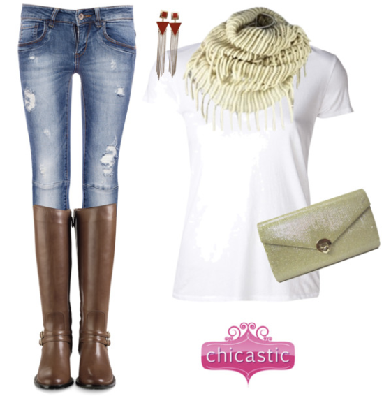 Casual Chic Outfit with Chicastic Accessories