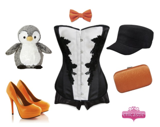 Penguin Halloween Costume by Chicastic.com