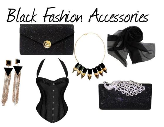 Chicastic Black Fashion Accessories