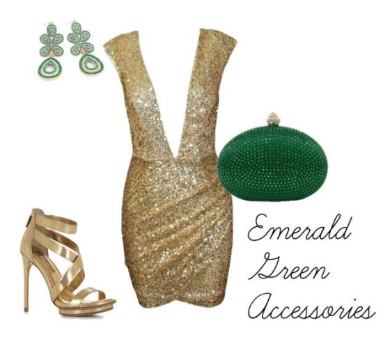 Emerald Green Accessories