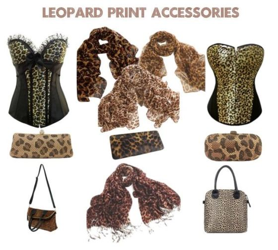 Animal Print Accessories For Women