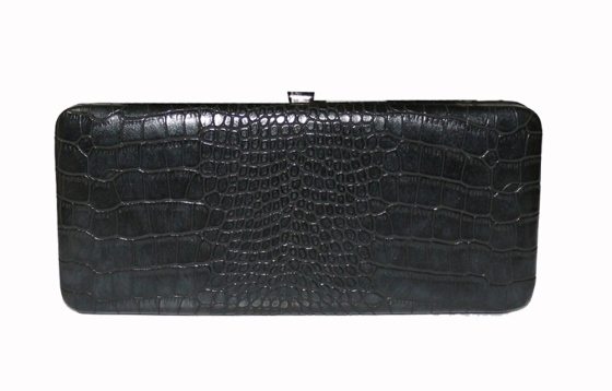 Black Snakeskin Pattern Wallet