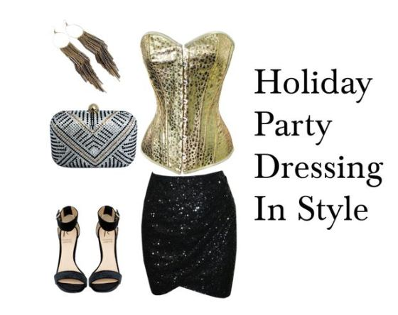 holiday party dressing