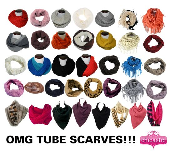 Infinity Tube Scarf