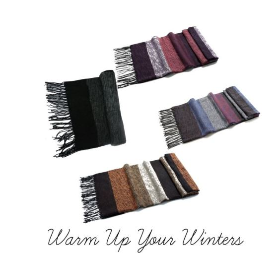 Wool Blend Shawls For Winters