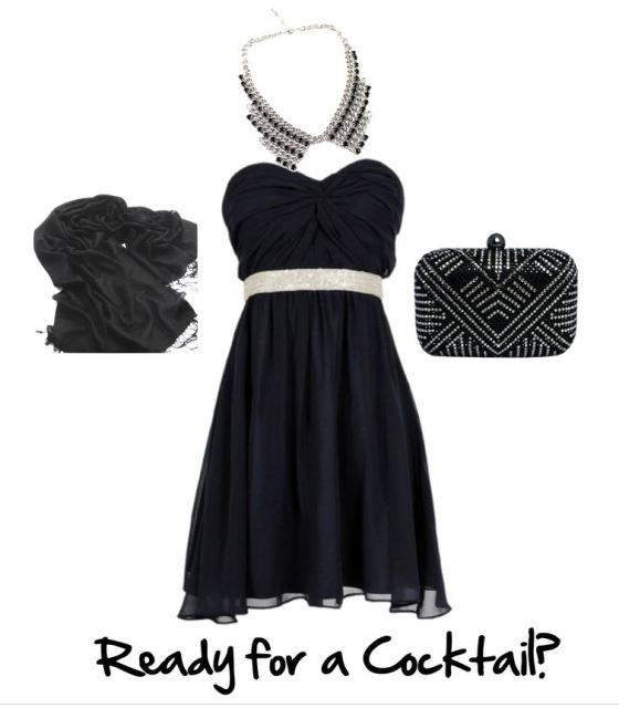 Accessories for the little black dress