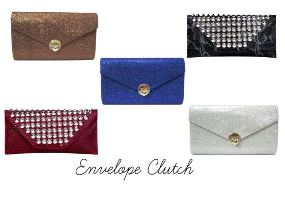 Envelope Clutch Purse
