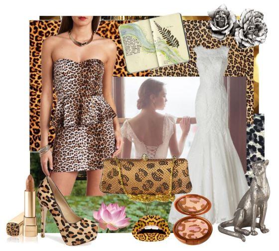 Leopard Inspired Wedding Ideas
