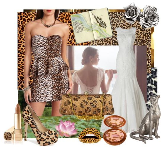 Leopard Inspired Wedding Ideas