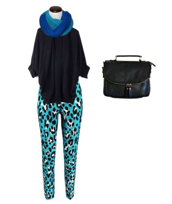 Accessories With Printed Pants
