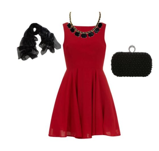 Wearing The Right Accessories With The Red Dress