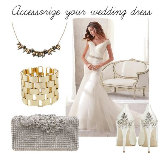 Accessorize Your Wedding Dress
