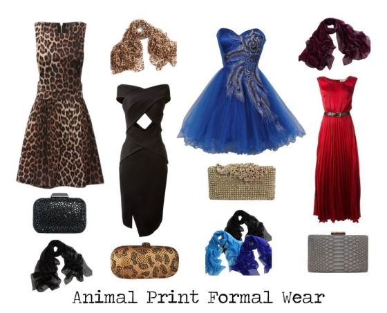 Animal Print In Formal Wear