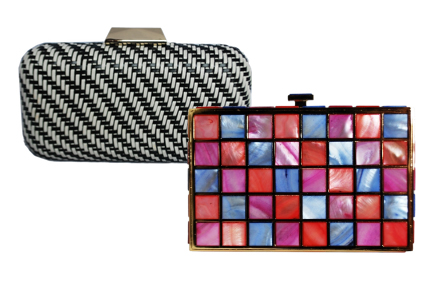 Runway Inspired Clutch Purses