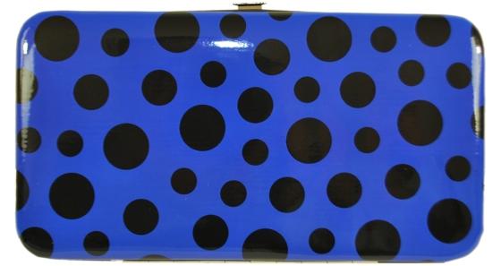 Blue Polka Dot Wallets