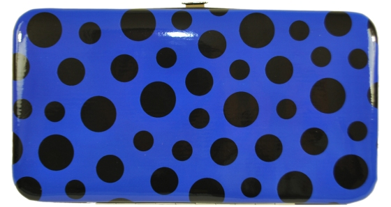 Blue Polka Dot Wallets
