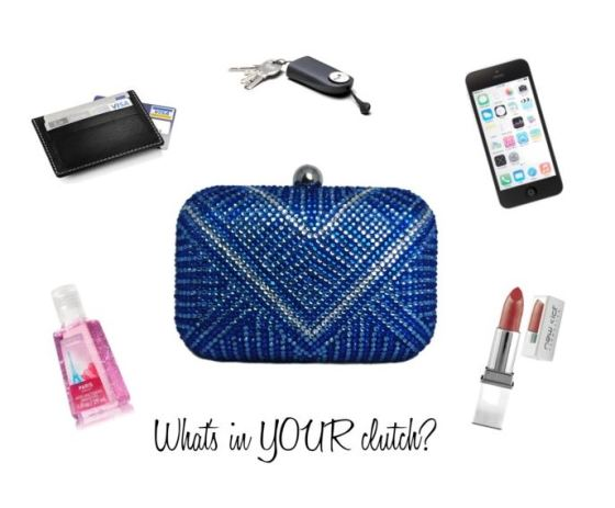 What's In Your Clutch Purse