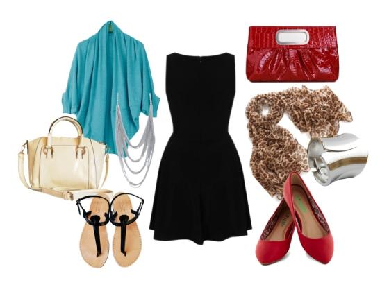 Black Dress Accessories