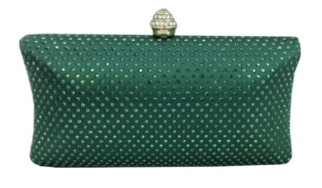 Emerald Green Clutch