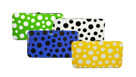 Polka Dot Clutch Wallets