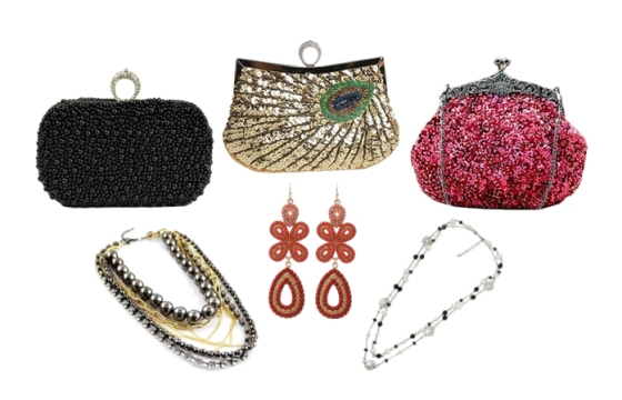 Sequin and Beaded Accessories