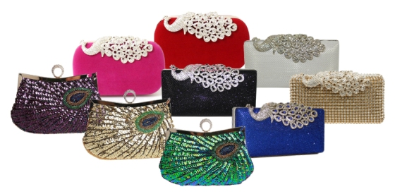 Peacock Clutches