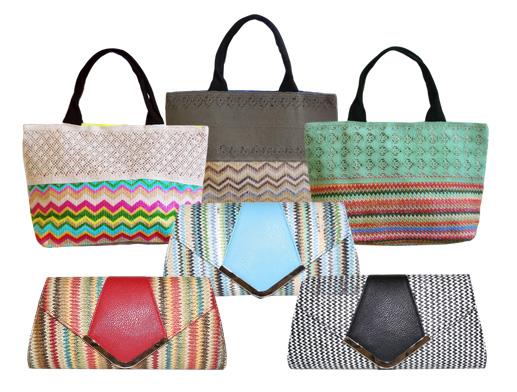 Chevron Summer Bags