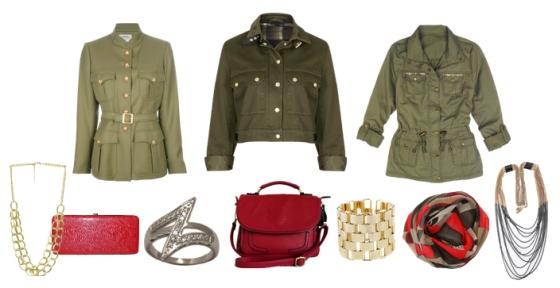 Military Coat Accessories