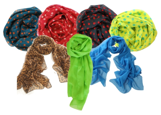 group scarves