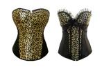 Leopard Print Corsets