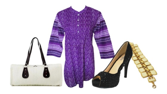 Purple Tunic Look