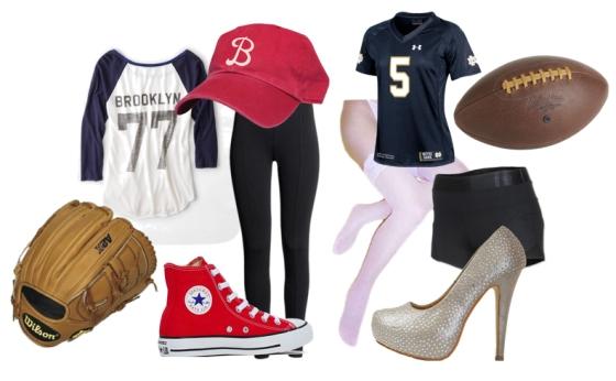 Football and Baseball Costumes