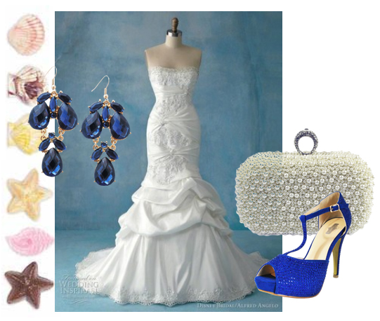 Ocean Themed Wedding