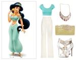 Modern Jasmine Outfit