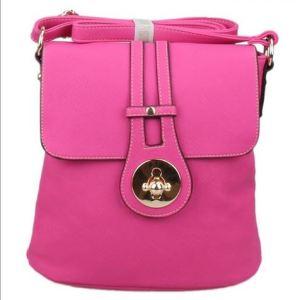 crossbody bag pink