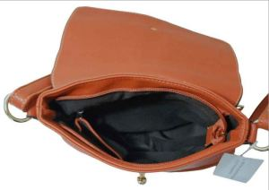 crossbody bag tan open vieew